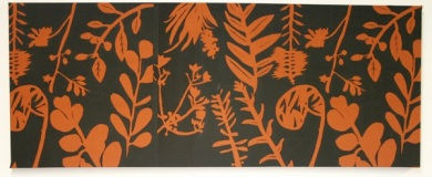 Textile panel created by Oxley state school,
