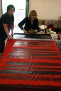 feather designs created at Mt Nebo workshop