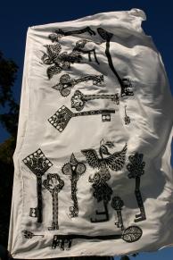 Nameless Jarndunmunha silk key banner created by community , Nancy Brown