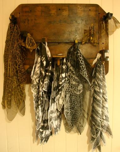 Winged things, Nancy Brown artist