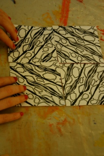 Logan gallery Artwaves textile design.