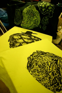 Vegetable prints, Ekka Botanique fashion parade 2013