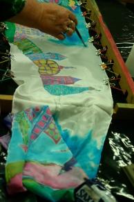 Coralie's scarf