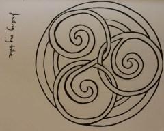 circle scroll knot
