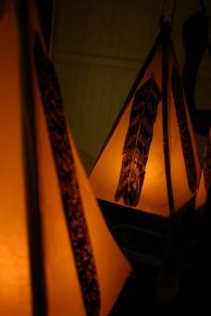feather lanterns