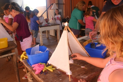 Children's lantern workshop Quilpie