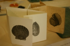 burnished transfer prints