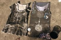 reinvented clothing, Nancy Brown artist