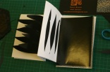 peep through sculptural book