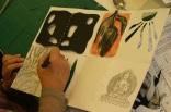Artist teacher sculptural book