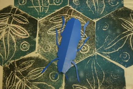 craiglea-blue-collagraph-and-recycles-stencil
