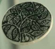 bw espalier brooch