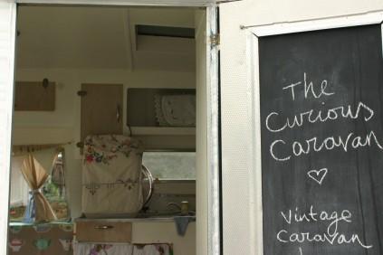 the curious caravan pop up shop