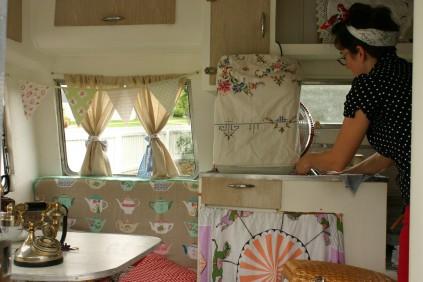 Curious caravan Brisbane pop up shop