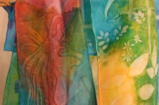visual arts sunprints Woodford 2014-15