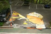 carpark mural treasure Hill Taipei