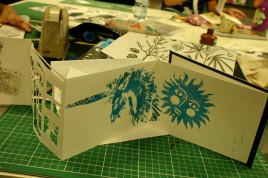 unicorn and sun artist book