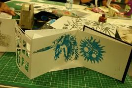 unicorn and sun artist book
