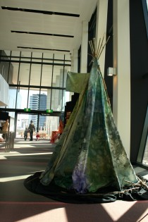 pre school art teepee exhibition centre