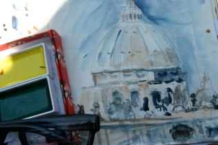 sketching Rome