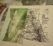 map-mixed-media