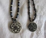 porcelain necklaces Nancy Brown