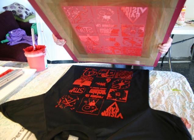 printing Visions shirt
