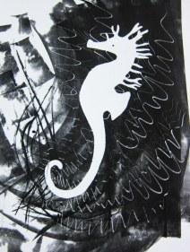 seahorse print Cairns
