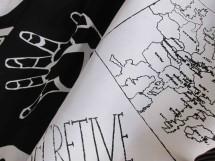 loreto white map and hand