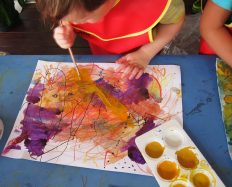 oakleigh one sun painting layers