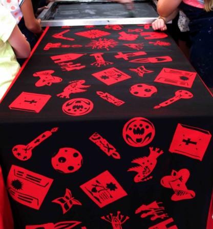 printing red Loreto