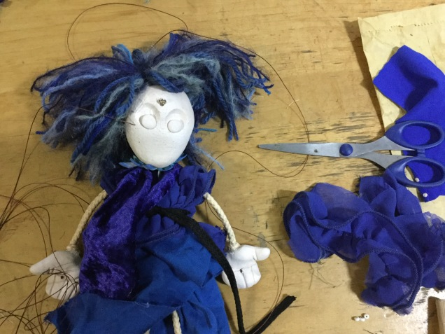 Puppet making with Sol Puppetman