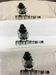 Photoemulsion screenprinting.Wendy's print