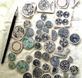 Nancy Brown porcelain jewellery