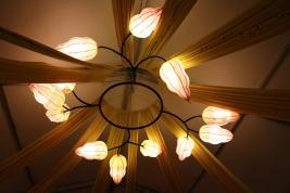 Kez Howell Yam-delier Songlines Woodford Festival lighting