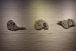 NancBrown Porcelain mosaic Gatakers Artspace