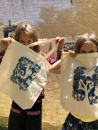 Screenprint Woodford Children's Festival