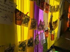 Drying Screenprint's Woodford Folk Festival