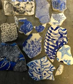 Fresco fragments Nancy Brown