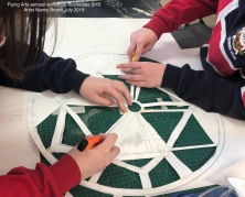 Creating stencils for spray painting