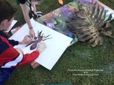 Spray painting art Flying Arts